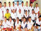 इनडोअर हॉकी चाचणीसाठी 'जैन'चे १६ खेळाडू रवाना|जळगाव,Jalgaon - Divya Marathi