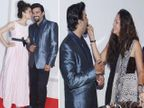 आर. माधवनची B'day पार्टी : रिल वाइफने केले Kiss तर रिअलने भरवला केक  - Divya Marathi