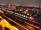 गुलाबी शहर जयपूरात जगातील पहिली व अनोखी मेट्रो रेल्वे सुरु, पाहा PHOTOS...|देश,National - Divya Marathi