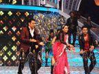 On Location: 'डीआयडी सुपर मॉम्स'च्या ग्रॅण्ड फिनालेत गोविंदासोबत थिरकली करिश्मा|टीव्ही,TV - Divya Marathi
