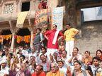 सनी देओलच्या \'मोहल्ला अस्सी\'मध्ये शिव्यांचा भडिमार, लीक झाला ट्रेलर| - Divya Marathi