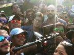 SHOOTING PHOTOS : 'दिलवाले'च्या सेटवर एकत्र दिसले शाहरुख-काजोल| - Divya Marathi