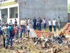 अलाहाबादजवळ नॅनी रेल्वे स्टेशनजवळ एयरफोर्सचे विमान कोसळले, पायलट सुरक्षित देश,National - Divya Marathi