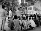 FTII विद्यार्थ्यांचे 7 व्या दिवशीही आंदोलन, देशभरातील माजी विद्यार्थी पुण्यात|पुणे,Pune - Divya Marathi
