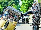Funny: \'लाँग ड्राईव्हला चल माझ्या सोनीये\', पाहा, डोळ्यातून पाणी येईपर्यंत हरवणारे फोटो| - Divya Marathi