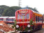 पहिली वातानुकूलित डीइएमयू रेल्वे कोचीत|देश,National - Divya Marathi