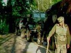 J&K : दहशतवाद्यांचे फायरिंग, काल थांबलेली चकमक सकाळी पुन्हा सुरू|देश,National - Divya Marathi