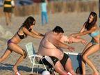 Funny Fatty: हे फोटो पाहून तुम्ही लोटपोट होऊन हसाल, मग करणार ना रोज व्यायाम  - Divya Marathi