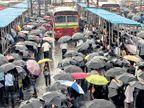 मुसळधार पावसाने पुन्हा मुंबईकरांची दैना, राज्यात अतिवृष्टीचा इशारा|देश,National - Divya Marathi