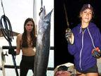 PHOTOS : सगळे म्हणतात 'Killer', हिने केला आहे मासे मारण्याचा विक्रम| - Divya Marathi