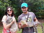 BDAY: साखरपुड्यापासून ते हनीपूनपर्यंत, पाहा पत्नीसोबतचे \'मधुबाला\'च्या RK चे PHOTOS|टीव्ही,TV - Divya Marathi