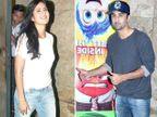 रणबीर-कतरिना पोहोचले हॉलिवूड सिनेमाच्या स्क्रिनिंगला, बरेच सेलेब्स दिसले| - Divya Marathi