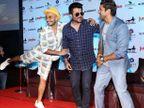 B\'day: पार्टीज आणि इव्हेंट्समध्ये अशा विचित्र आउटफिट्समध्ये दिसतो रणवीर| - Divya Marathi