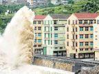 चीनमध्ये 'चान-होम' धडकले, १० लाख बेघर विदेश,International - Divya Marathi