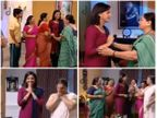 Telly World: अखेर तो क्षण आला... श्री-जान्हवीने आईंना दिली होणाऱ्या बाळाची गोड बातमी!|मराठी सिनेकट्टा,Marathi Cinema - Divya Marathi