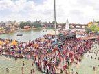 कुंभमेळा : ध्वजाराेहणाने झाली अास्थेच्या पर्वाला सुरुवात नाशिक,Nashik - Divya Marathi
