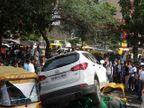 दिल्लीजवळ भरदिवसा गॅंगवार, दोघांचा मृत्यू, एसयूव्हीने रिक्षाला चिरडले देश,National - Divya Marathi