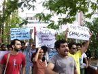 आंदोलन थांबवा नाहीतर FTII मधून बडतर्फ करू- प्रशासनाचा विद्यार्थ्यांना इशारा|पुणे,Pune - Divya Marathi
