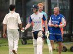 इंग्लंडच्या खेळाडूंसोबत सचिनच्या मुलाचा कसून सराव, बघा PHOTOS स्पोर्ट्स,Sports - Divya Marathi