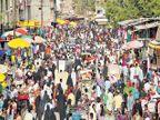 रमजान ईदच्या पूर्वसंध्येला खरेदीसाठी शहरातील बाजारपेठा फुल्ल|औरंगाबाद,Aurangabad - Divya Marathi