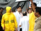भरपावसात काकांना अखेरचा निरोप द्यायला पोहोचले होते बिग बी, अंत्ययात्रेत जमली होती गर्दी  - Divya Marathi
