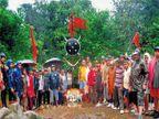 बाजीप्रभूंना अभिवादन:'पन्हाळा-पावनखिंड'पदभ्रमंतीतून इतिहासाची उजळण|कोल्हापूर,Kolhapur - Divya Marathi