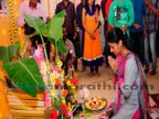 \'होणार सून..\'च्या सेटवर सत्यनारायण पूजा, पाहा, सेटवरचं दोन वर्षपूर्तीचं सेलिब्रेशन मराठी सिनेकट्टा,Marathi Cinema - Divya Marathi