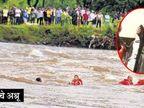 महाड दुर्घटना: सावित्री नदीमध्ये दुसऱ्या बसचा सांगाडा सापडला, नातेवाईक परतले मुंबई,Mumbai - Divya Marathi