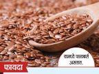 भाजून खा जवस, बॉडीवर होतील हे 10 Amazing फायदे...|जीवन मंत्र,Jeevan Mantra - Divya Marathi