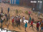 मुलांच्या भांडणातून दंगल; दगडफेक व मारहाणीत ९ जखमी, २२ जण अटकेत|जळगाव,Jalgaon - Divya Marathi