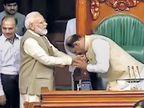 बिर्ला यांची लोकसभेच्या सभापतिपदी एकमताने निवड; यांच्या विनम्र स्वभावाचा गैरफायदा घेण्याची भीती वाटते - मोदींनी व्यक्त केल्या भावना|देश,National - Divya Marathi