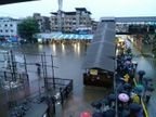 धावती मुंबई पावसामुळे थांबली, 40 फोटोंमध्ये पाहा शहराचे हाल...|मुंबई,Mumbai - Divya Marathi