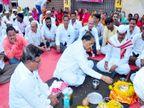 भाजपमध्ये प्रवेशाची चर्चा असताना आमदार बबनराव शिंदे म्हणतात, जय श्री राम; कॅमेरा ऑन असल्याचे पाहताच म्हणाले, जय भारत!|पुणे,Pune - Divya Marathi