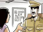 महिलेला तक्रार देण्यास विरोध करत पोलिसाचा चंदनझिरा पोलिस ठाण्यात गोंधळ; महिलेचे घर जाळण्याचा प्रयत्न|औरंगाबाद,Aurangabad - Divya Marathi