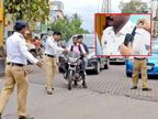 सावधान वर्दी पाहतेय! तामिळनाडू ट्रॅफिक पोलिसांच्या युनिफॉर्मवरच लागले कॅमेरे, प्रत्येक घडामोडीची रेकॉर्डिंग देश,National - Divya Marathi