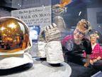 अमेरिका : अपोलो ११ मोहिमेच्या ५० वर्षपूर्तीनिमित्त जानेवारीपर्यंत प्रदर्शन, चंद्रावरील पहिले पाऊल ठेवल्याचा क्षण पुन्हा साकारणार|विदेश,International - Divya Marathi