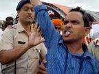 VIDEO: मुख्यमंत्र्यांच्या भंडारा रॅलीत गोसीखुर्द प्रकल्पग्रस्तांची निदर्शने, सीएम म्हणतात -गोसीखुर्द चे पाप मागच्या सरकारचे  - Divya Marathi