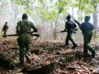 महाराष्ट्र सीमेवर नक्षलवादी आणि जवानांमध्ये चकमक; 7 नक्षलवाद्यांनी कंठस्नान घालण्यात यश| - Divya Marathi