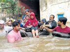 आपबीती : संसार पाण्यात, जीव वाचवण्यासाठी धडपड|कोल्हापूर,Kolhapur - Divya Marathi