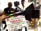 वरून धवन - सारा अली खानचा आगामी चित्रपट 'कुली नं. 1'च्या रिमेकचे शूटिंग बँकॉकमध्ये सुरू| - Divya Marathi