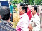 अल्पसंख्याक विकास महामंडळाच्या जिल्हा व्यवस्थापकासह दोघांना लाच घेताना अटक अकोला,Akola - Divya Marathi