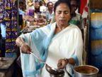 पश्चिम बंगाल: ममता बॅनर्जींनी चहाच्या टपरीवर स्वतः बनवला चहा, इतरांना सुद्धा दिला; व्हिडिओ आला समोर| - Divya Marathi