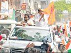राष्ट्रवादी काँग्रेसचे आता दोन झेंडे; एक घड्याळाचा अन् दुसरा शिवरायांचा|मुंबई,Mumbai - Divya Marathi