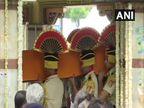 माजी अर्थमंत्री अरुण जेटली अनंतात विलीन; राजकीय इतमामात करण्यात आले अंत्यसंस्कार, मुलगा रोहनने दिला मुखाग्नी  - Divya Marathi