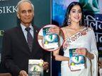 पुस्तक प्रदर्शनात जान्हवी कपूरने पकडले उलटे पुस्तक, फोटो व्हायरल होताच सोशल मीडियावर झाली ट्रोल  - Divya Marathi
