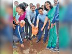 बासरीच्या सुरांवर शहरवासीयांनी लुटला वृक्षारोपणाचा आनंद|औरंगाबाद,Aurangabad - Divya Marathi
