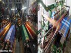 मंदीमुळे लुंगीचे ६००, साड्यांचे हजार माग बंद; मालेगावातील चित्र|नाशिक,Nashik - Divya Marathi