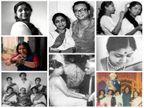 Birthday Special : पाहा सुमधूर आवाजाने भूरळ घालणा-या आशा भोसले यांचे कधीही न पाहिलेले फोटोज  - Divya Marathi
