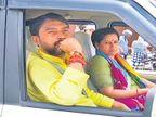 केंद्रीय मंत्र्यांची गाडी कारवाई न करता सोडली; एसआयसह तीन पोलिस कर्मचाऱ्यांना केले निलंबित| - Divya Marathi
