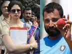 मोहंमद शमीला न्यायालयाकडून दिलासा, अटकेवर स्थगिती; पत्नीने लावले घरगुती हिंसाचाराचे आरोप| - Divya Marathi